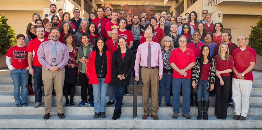 Anderson Faculty and Staff Group Photo